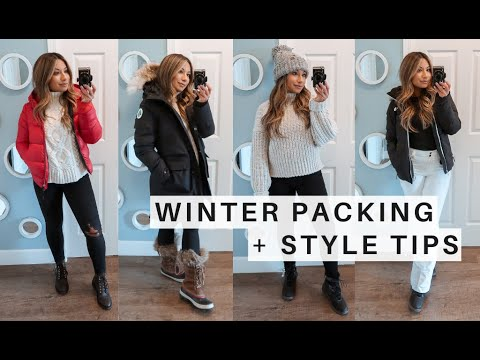 WINTER PACKING TIPS | What To Wear In Extreme Cold + Outfit Ideas