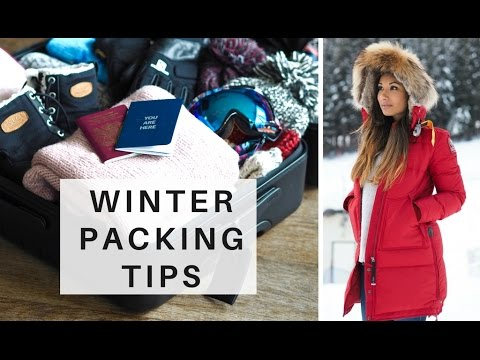 WINTER TRAVEL PACKING TIPS | What To Take On A Winter Vacation | Go Li...