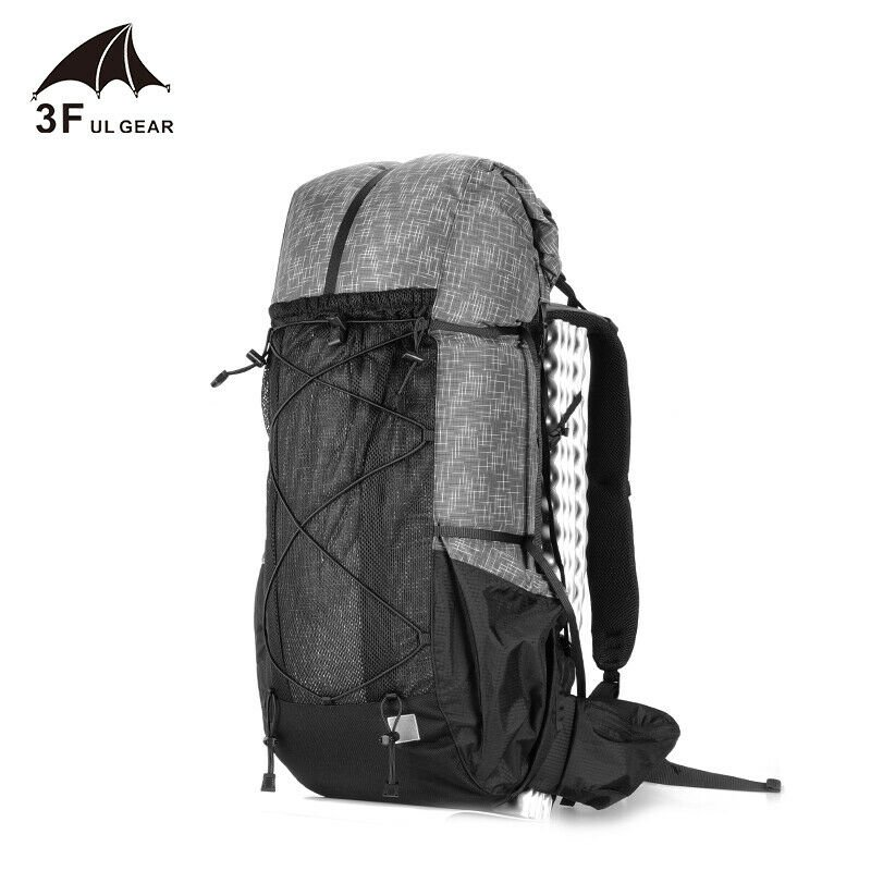 Water-resistant Hiking Backpack Lightweight Camping Pack Travel Mounta...