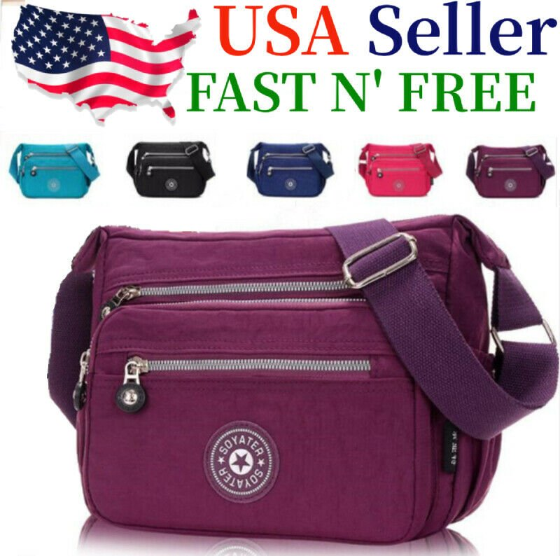 Waterproof Messenger Cross Body Ladies Handbag Bag Shoulder Bag Womens...