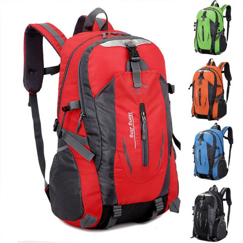Waterproof Outdoor Sport Hiking Camping Travel Backpack Daypack Rucksa...