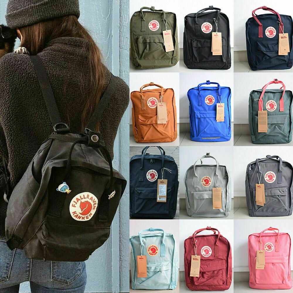 Waterproof Sport Backpack Fjallraven Kanken Handbag School Travel Bag ...