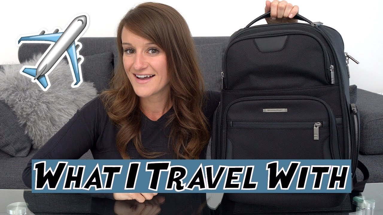 What's In My Travel Backpack! ? ??