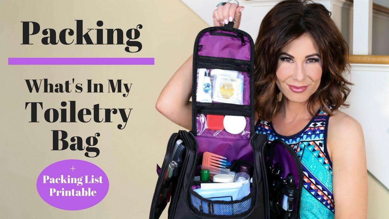 What's In My Travel TOILETRY BAG | PACKING TIPS | TRAVEL