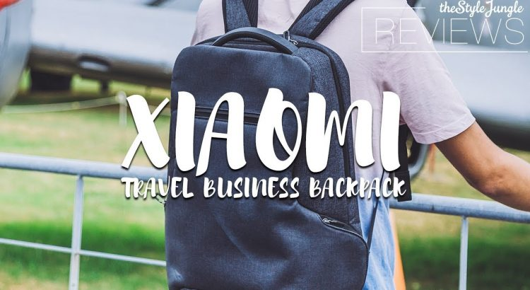XIAOMI TRAVEL BUSINESS BACKPACK REVIEW (2020)