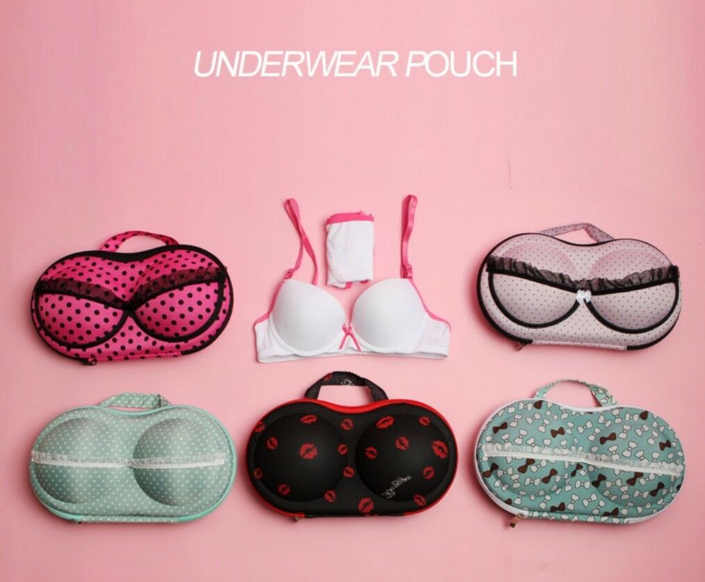 +high quality+ Bra Lingerie Travel Case - Portable travel organizer 3 ...